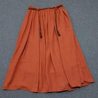 イッカ(ikka)のロングスカート ikka Lサイズ (ロングスカート)