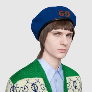 グッチ(Gucci)の【GUCCI】大人気のシリーズ ベレー帽(ハンチング/ベレー帽)