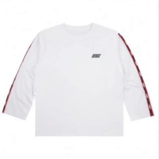 アイコン(iKON)のiKON ロングスリーブTシャツ white ホワイト 白(Tシャツ/カットソー(七分/長袖))