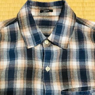 デンハム(DENHAM)のdenham チェックシャツ xs メンズ(シャツ)