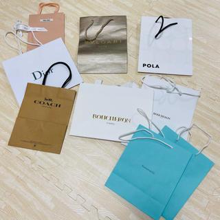 クリスチャンディオール(Christian Dior)の【送料込】ブランド ショッパーSET(ショップ袋)
