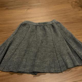 familiar - familiar ニット スカート グレー サイズ110
