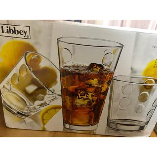 コストコ(コストコ)の値下げ! リビー 水玉 グラス セット 新品 コストコ(グラス/カップ)