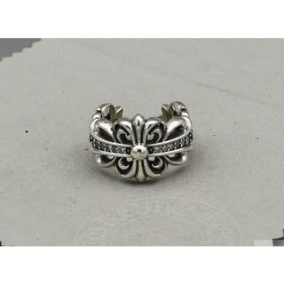 クロムハーツ(Chrome Hearts)のK167クロムハーツリングダイヤ(リング(指輪))