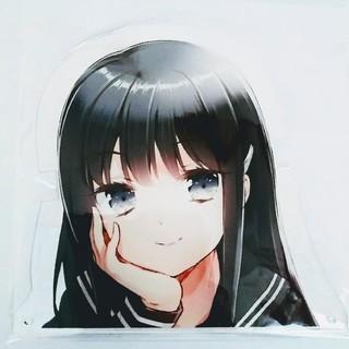 コナミ(KONAMI)の倉吉 限定 ひなビタ♪ 霜月凜 アクリル メガネスタンド 眼鏡 めがね(キャラクターグッズ)