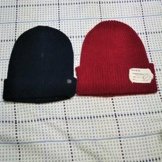 コムサイズム(COMME CA ISM)のニット帽二色セット(ニット帽/ビーニー)