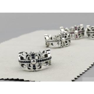 クロムハーツ(Chrome Hearts)のK169クロムハーツリング ダイヤ(リング(指輪))