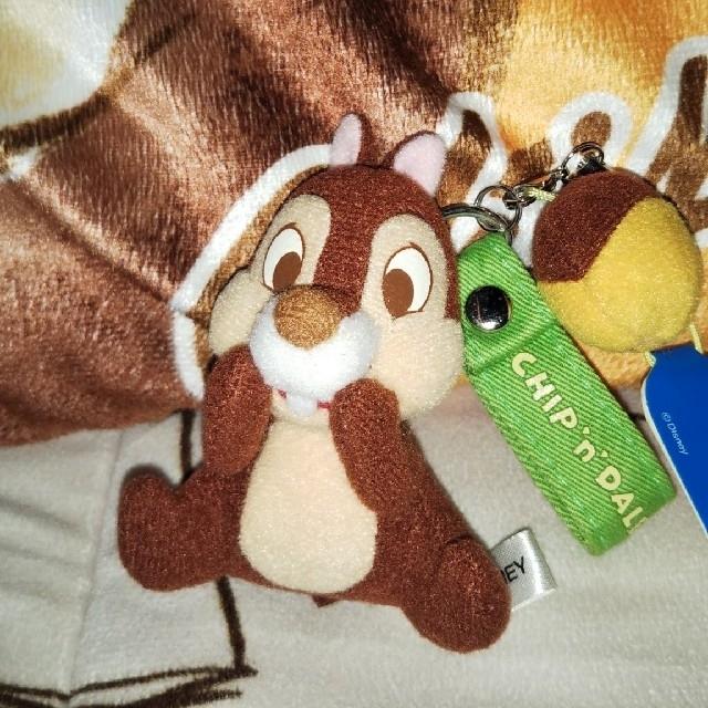 チップ&デール(チップアンドデール)の⭐️Disney⭐️チップ&デール のチップ携帯ストラップ エンタメ/ホビーのアニメグッズ(ストラップ)の商品写真