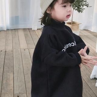 韓国子供服 スウェットワンピース(ワンピース)