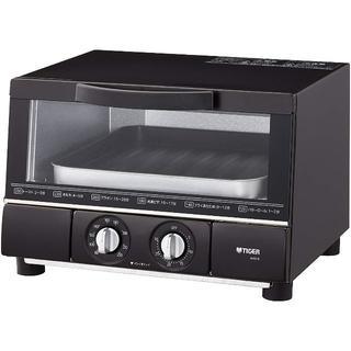 タイガー(TIGER)のタイガー トースター うまパン  マットブラック KAE-G13N-K(調理機器)