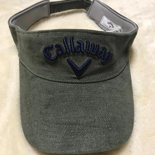 キャロウェイゴルフ(Callaway Golf)のCallaway golf  キャロウェイゴルフ サンバイザー  新品未使用(その他)