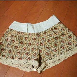 アングリッド(Ungrid)のアングリッド ゴブラン織り ショートパンツ(ショートパンツ)