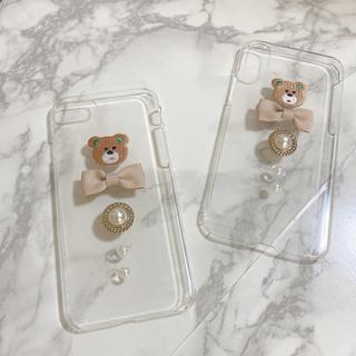 カスタネ(Kastane)のくまちゃんiPhoneケース♡最終値下げ(iPhoneケース)