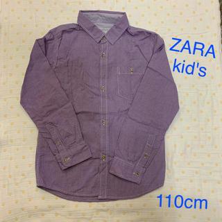 ザラキッズ(ZARA KIDS)のZARA kid's 110cm オシャレなシャツ・ザラキッズ(ブラウス)