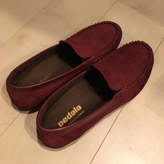 アシックス(asics)のpedala アシックスサイズ24.5(ローファー/革靴)