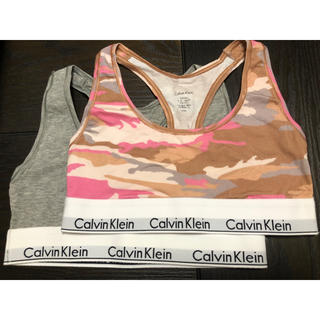 Calvin Klein - Calvin Klein 下着上のみ 2点セット