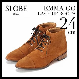 イエナスローブ(IENA SLOBE)の【新品未使用】EMMA GO レースアップブーツ 24cm(ブーツ)