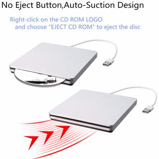 外付けドライブ BESTRUNNER USB2.0対応(DVDプレーヤー)