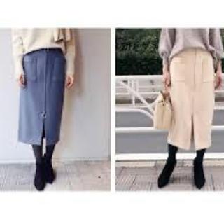 ノーブル(Noble)のゆうさん専用!Noble ジップタイトスカート 2018年AW(ひざ丈スカート)