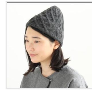 ネストローブ(nest Robe)のマチュアーハ   ニット帽(ニット帽/ビーニー)