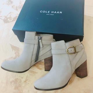 Cole Haan - コールハーン ブーティー  ショートブーツ グレー