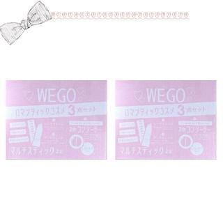 ウィゴー(WEGO)のWEGO ロマンティックコスメ3点セット 2箱(口紅)