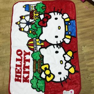 サンリオ(サンリオ)のキティーちゃん毛布 膝掛け(毛布)