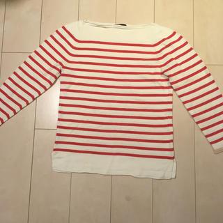 シップス(SHIPS)のシップス SHIPS ボーダー コットン マリン カットソー シャツ(Tシャツ/カットソー(七分/長袖))