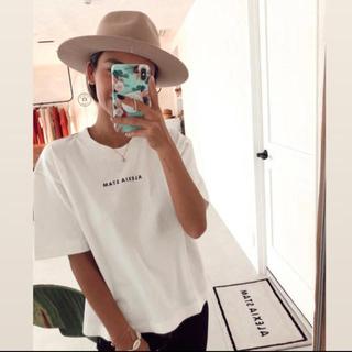 アリシアスタン(ALEXIA STAM)のALEXIASTAM★ロゴTシャツ(Tシャツ(半袖/袖なし))