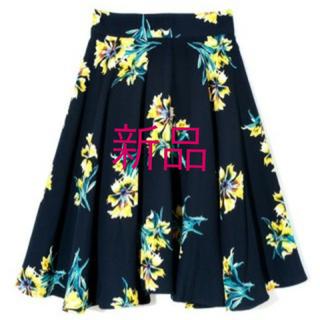 チェスティ(Chesty)の☆新品☆花柄スカート☆rirevie☆(ひざ丈スカート)