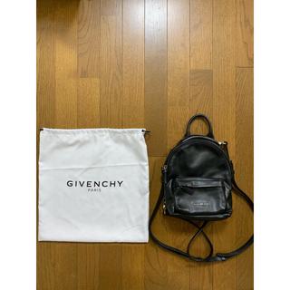 ジバンシィ(GIVENCHY)のmina様ジバンシイ GIVENCHY バックパック ミニ バッグ ブラック(リュック/バックパック)