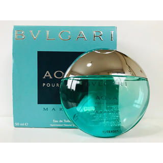 BVLGARI - ブルガリ アクア プールオム マリン 香水 50ml
