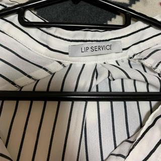 リップサービス(LIP SERVICE)のボーダーシャツ(シャツ/ブラウス(長袖/七分))