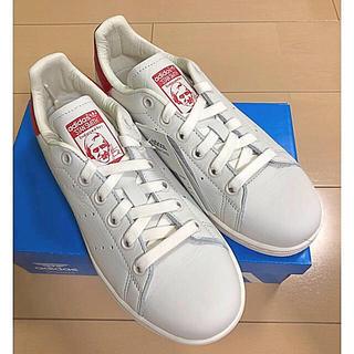 アディダス(adidas)のadidasスタンスミス定価16200円以上‼️レッド!!!(スニーカー)