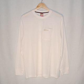 コンバース(CONVERSE)の新品!コンバース ワッフルクルーネックT(長袖)WH Lサイズ(Tシャツ/カットソー(七分/長袖))