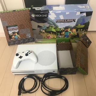 Xbox - Xbox One S Minecraft 同梱版 (ZQ9-00068)
