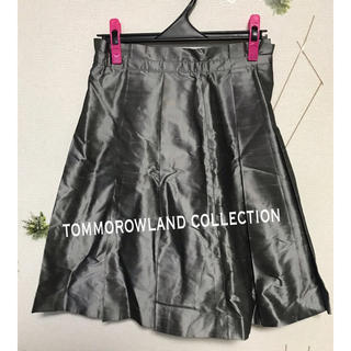 トゥモローランド(TOMORROWLAND)の▫️ tommorowland collection シルクスカート(ひざ丈スカート)