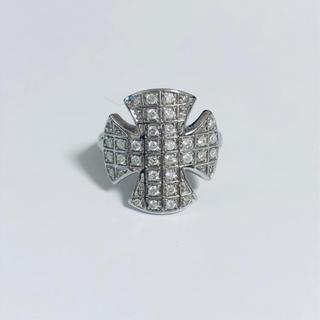 k18 WG ダイヤモンド リング(リング(指輪))