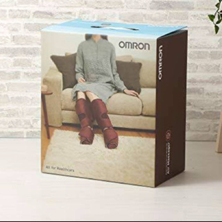 OMRON - 最終値下げ! オムロン OMRON エアマッサージャー フット