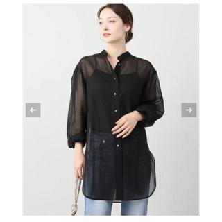 プラージュ(Plage)のオーガンジーシャツ(シャツ/ブラウス(長袖/七分))