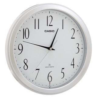 CASIO - 大人気!掛け時計 電波 アナログ