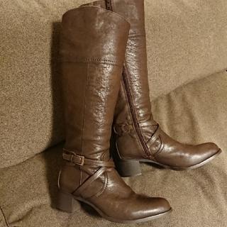 サヴァサヴァ(cavacava)のロングブーツ 5cmヒール 24.5cm(ブーツ)