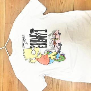 オフホワイト(OFF-WHITE)のオフホワイト tシャツ シンプソンズ(Tシャツ(半袖/袖なし))