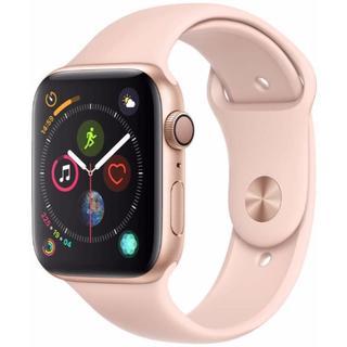 アップルウォッチ(Apple Watch)の★ステンレスバンド+ケース付★新品★Apple Watch4GPS44mm(スマートフォン本体)