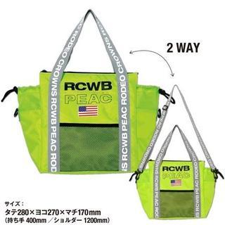 ロデオクラウンズ(RODEO CROWNS)のロデオクラウンズ 付録  RCWB PEAC 2WAYミニBAG(ファッション)