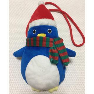 カルディ(KALDI)のKALDI ペンギンポシェット【クリスマス】(ポシェット)