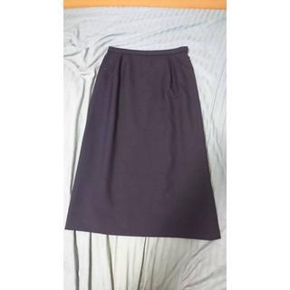 レリアン(leilian)のレリアン Leilian スカート サイズ7 ブラック 黒 美品 ボトムス(ひざ丈スカート)