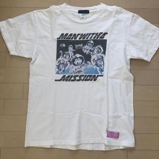 MAN WITH A MISSION - マンウィズ 宇宙Tシャツ M