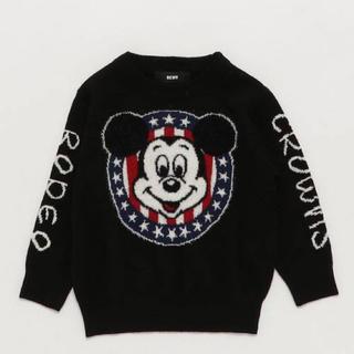 ロデオクラウンズ(RODEO CROWNS)のロデオクラウンズ ミッキー ニット キッズ(Tシャツ/カットソー)