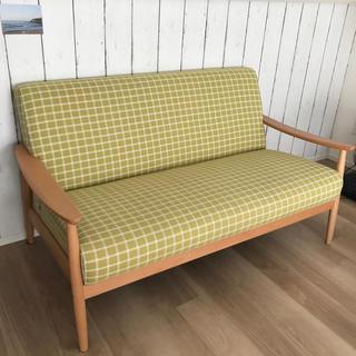 カリモクカグ(カリモク家具)のカリモク 2シーター ソファー(三人掛けソファ)